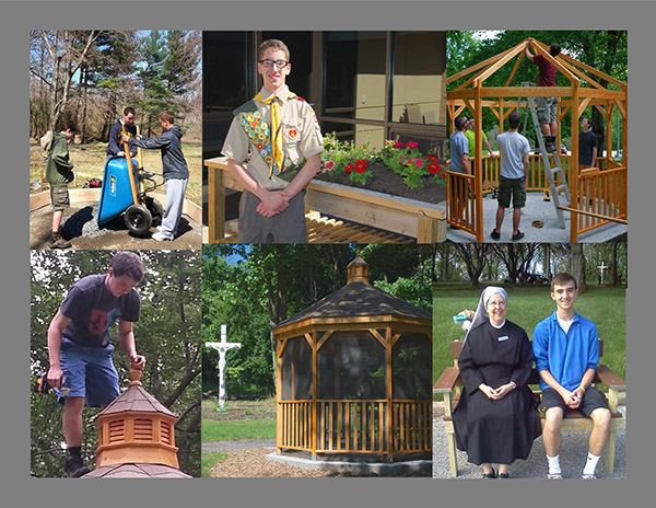Eagle scout projects at st martin s home little sisters of the poor baltimore - The scouts tiny house ...